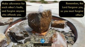 picture of fountain for the forgive each other bs Colossians 3:13