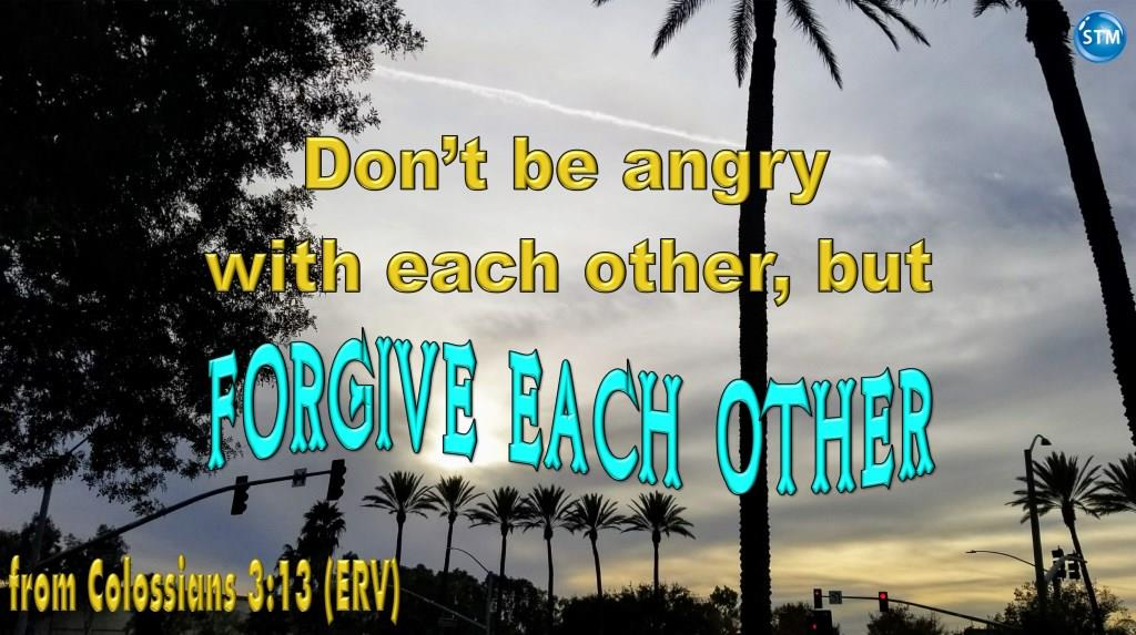 Picture of cloudy day in San Bernardino, CA for the forgive each other bible study Colossians 3:13