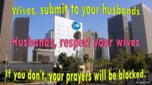 Picture of downtown LA for the prayer blockers bible study 1 Peter 3:7