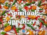 picture of pizza topping for spiritual appetizers page