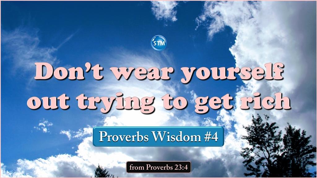 Proverbs Wisdom 4