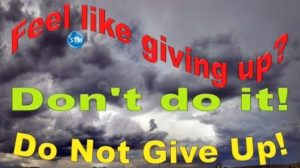 Picture of stormy sky for the do not give up bs