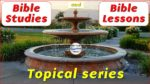 picture of water fountain for bible study series