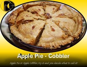 picture of diabetic apple pie sliced