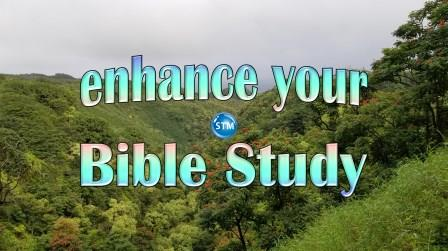 Enhance your Bible study